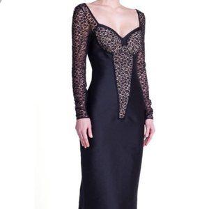 STELLA MCCARTNEY Black Lace Cocktail Dress NWT 4